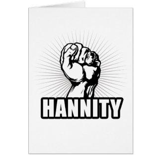 Poder de Hannity Tarjeta De Felicitación