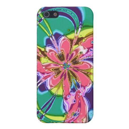 Poder de Jenniflower iPhone 5 Carcasas