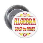 Poder de la álgebra pin