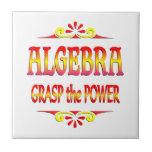 Poder de la álgebra tejas  cerámicas