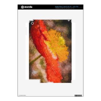 Poder de la amapola pegatinas skins para iPad 3