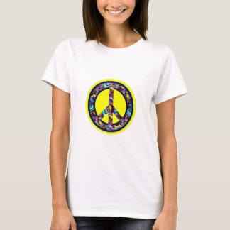 Poder de la camiseta de la paz