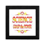 Poder de la ciencia caja de joyas