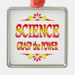 Poder de la ciencia ornamentos para reyes magos