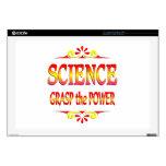Poder de la ciencia skins para portátiles
