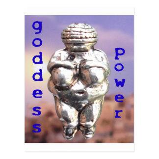 Poder de la diosa - Venus de Willendorf Tarjetas Postales