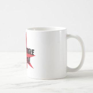 Poder de la escritura taza de café