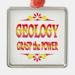 Poder de la geología ornamento para reyes magos