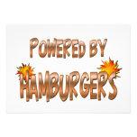Poder de la hamburguesa comunicados personales