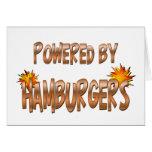 Poder de la hamburguesa felicitación
