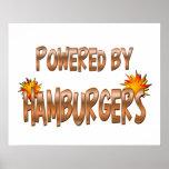Poder de la hamburguesa posters