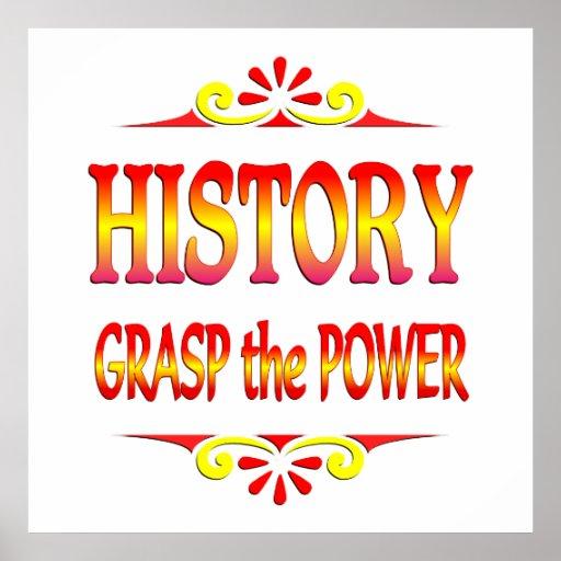 Poder de la historia póster