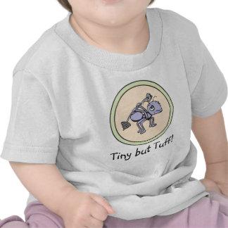 ¡Poder de la hormiga!  ¡Minúsculo pero duro! ¡Bebé Camisetas