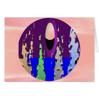 Poder de la luna - altas mareas tarjeta