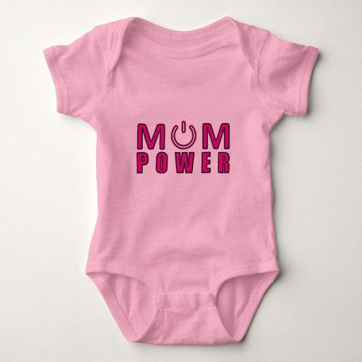 Poder de la mamá, mamá del poder remeras