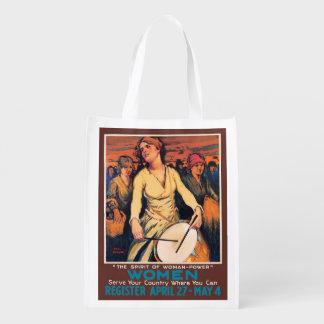 Poder de la mujer bolsa de la compra
