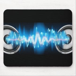 poder de la música alfombrilla de raton