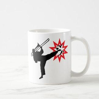 Poder de la música tazas de café