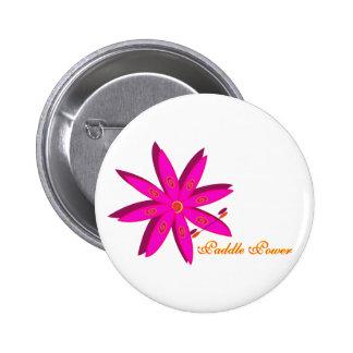Poder de la paleta (rosa) pin