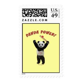 Poder de la panda del grillo sello