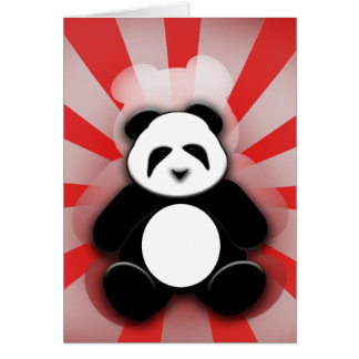 ¡Poder de la panda! Felicitación