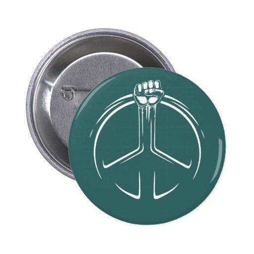 ¡Poder de la paz! Pin Redondo 5 Cm
