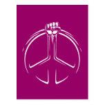 ¡Poder de la paz! Tarjetas Postales