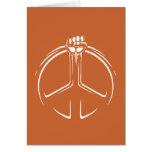 ¡Poder de la paz! Tarjetón