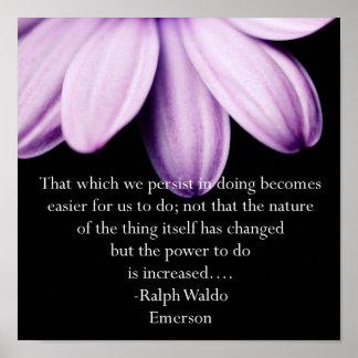 Poder de la persistencia impresiones