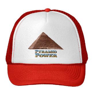 Poder de la pirámide - gorra del camionero
