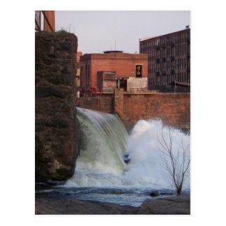 Poder de la presa del río Chattahoochee Postales
