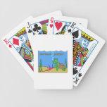 Poder de la tortuga baraja cartas de poker