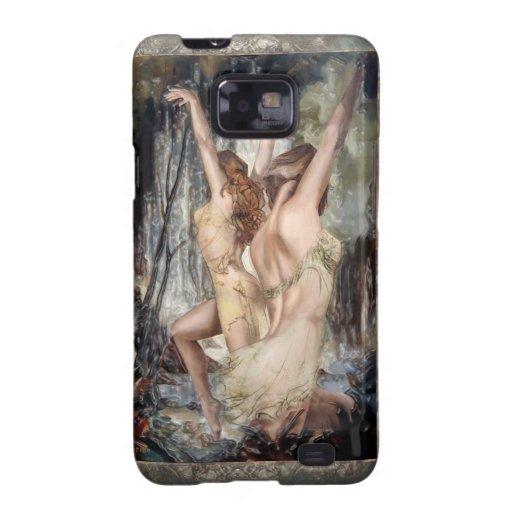 """""""Poder de la vitalidad"""" Samsung Galaxy S2 Carcasas"""
