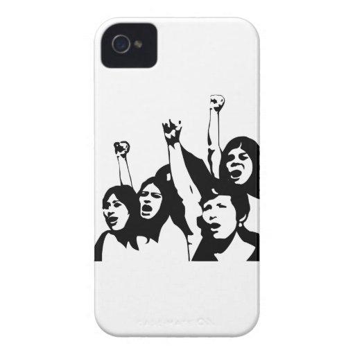 Poder de las mujeres iPhone 4 protector