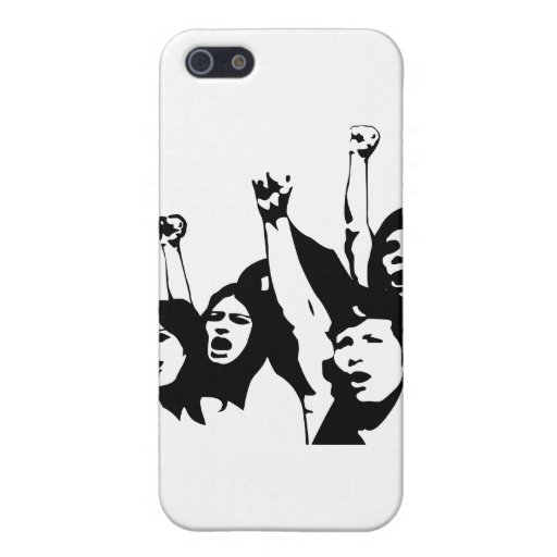 Poder de las mujeres iPhone 5 carcasa