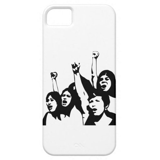 Poder de las mujeres iPhone 5 Case-Mate cárcasa