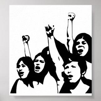 Poder de las mujeres póster