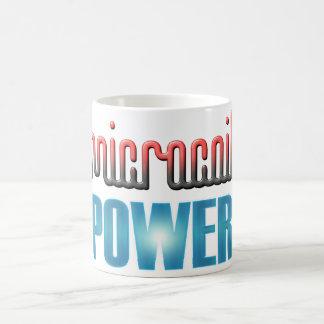 Poder de Microcoil Taza De Café