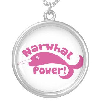 Poder de Narwhal Colgante Redondo