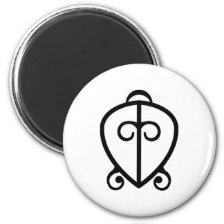 Poder de Odo Nnyew Fie Kwan el | del símbolo del Imán Redondo 5 Cm