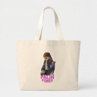 Poder de Palin Bolsa Tela Grande