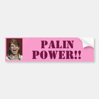 ¡Poder de Palin!! - Pegatina para el parachoques Pegatina Para Auto
