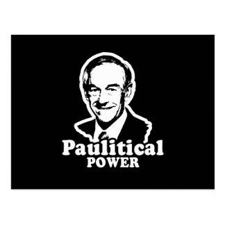 Poder de Paulitical Tarjeta Postal