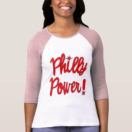 ¡Poder de Philly! Camisetas, sudaderas con