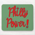 ¡Poder de Philly! Camisetas, sudaderas con capucha Alfombrilla De Ratón