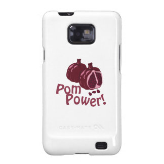 ¡Poder de Pom! Samsung Galaxy SII Carcasa