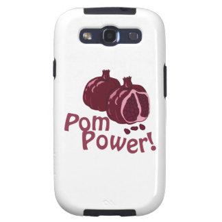 ¡Poder de Pom! Galaxy S3 Fundas
