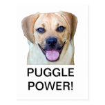 ¡Poder de Puggle! Postales