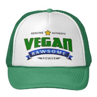 Poder de Rawsome del vegano Gorros Bordados
