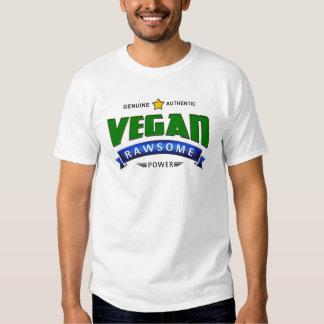 Poder de Rawsome del vegano Playera